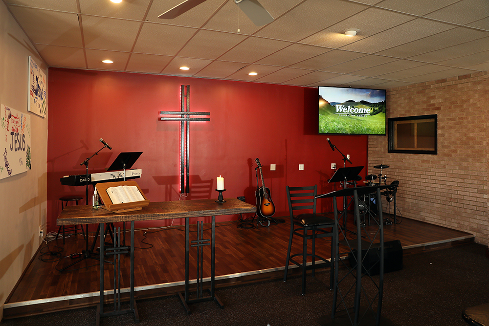 Alter At Connect Church Blairsville, PA