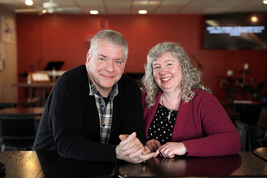 Mark and Michele Heckman